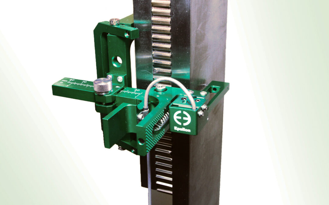 Clip-On Extensometer for Sandwich Core Shear Testing and Rigid Cellular Plastic Shear Testing