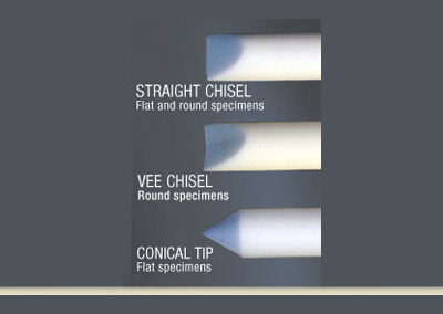 Available ceramic rod tip styles