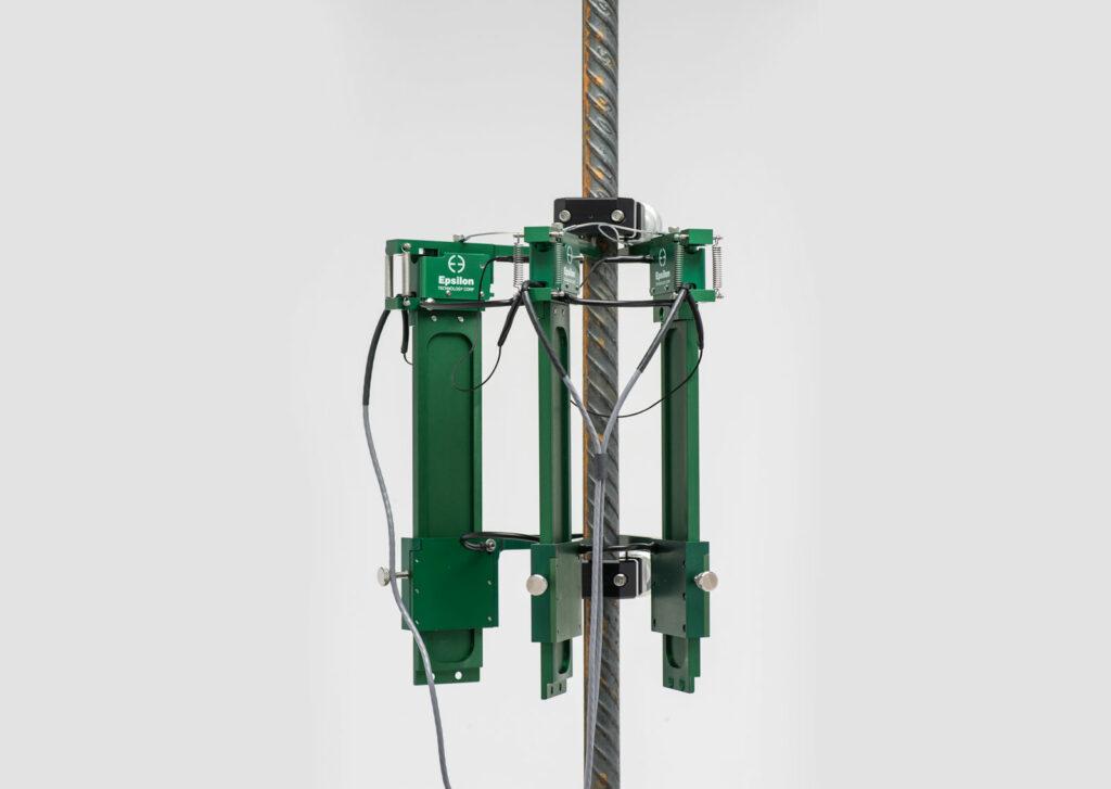 Rebar Coupler / Rebar Splice Extensometer Provides Repeatable Elongation  Measurement