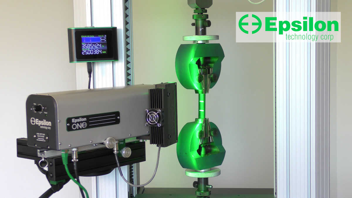 video of optical extensometer